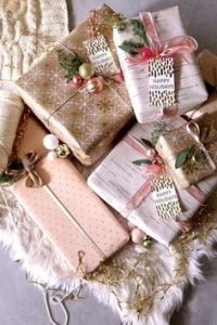 We need God's lavish grace to save sinners. He offers salvation as a gift.  This is an image of a pile of pink wrapped gifts.